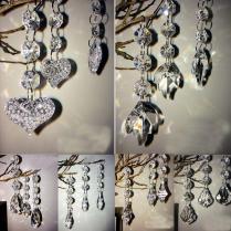 Many Style Diy Acrylic Crystal Beads Garland Chandelier