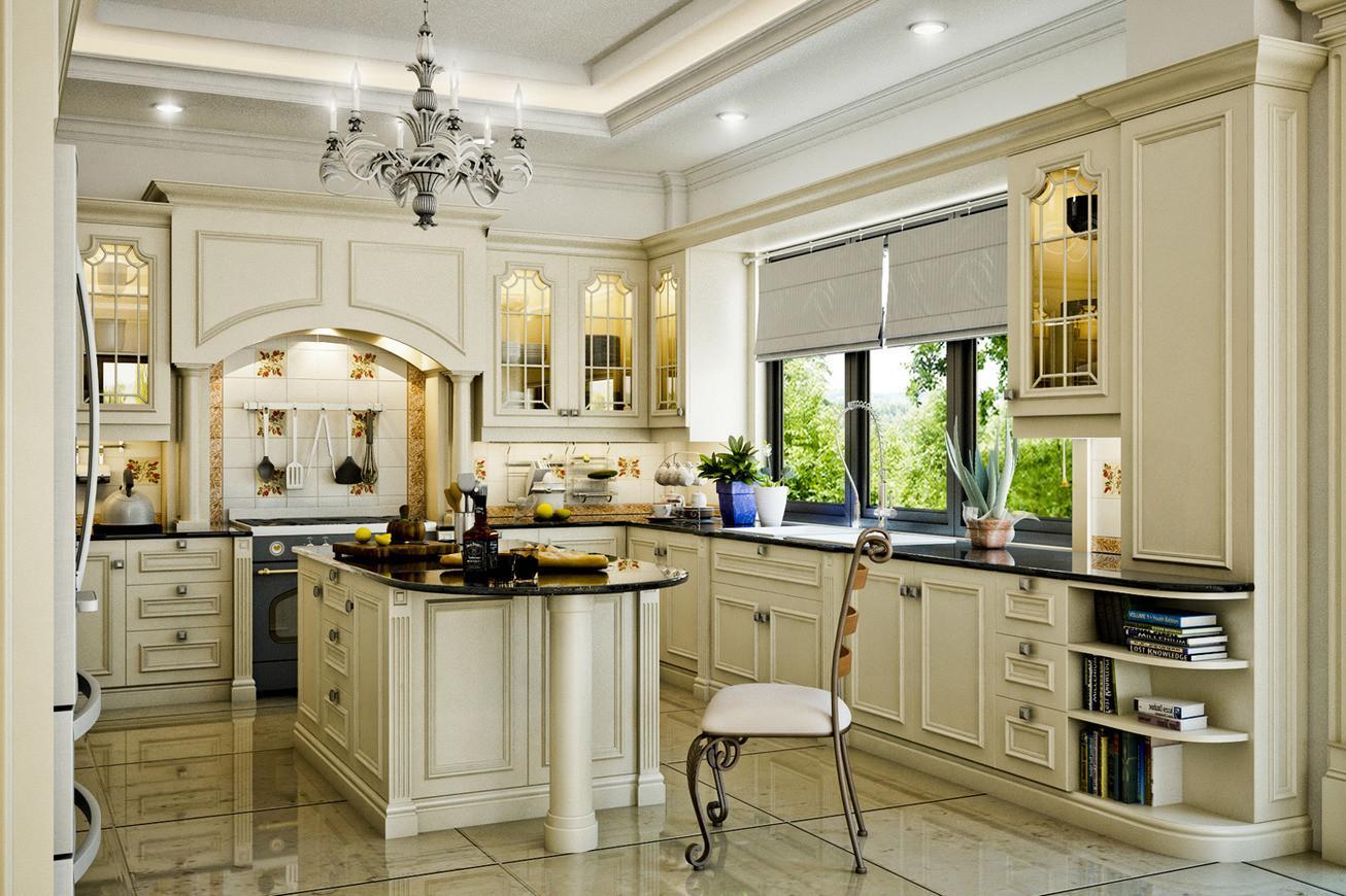 Marvelous Classic Kitchen Designs Small Decoratorist 100641