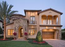 Mediterranean Style House Plan Beds Baths 4923