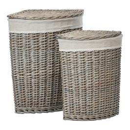Mesa Set Corner Laundry Baskets Achica