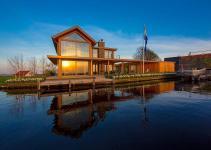 Mesmerizing Contemporary Escape Water Edge Villa