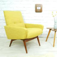 Mid Century Style Office Chair Modern