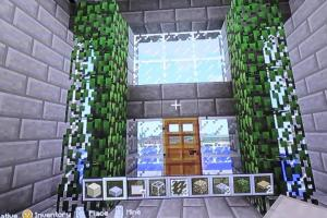 Minecraft House Tours Modern Stone Brick