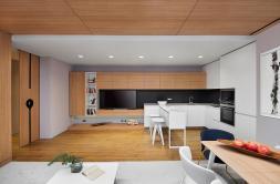Minimalist Apartment Design Simple Wooden Interior