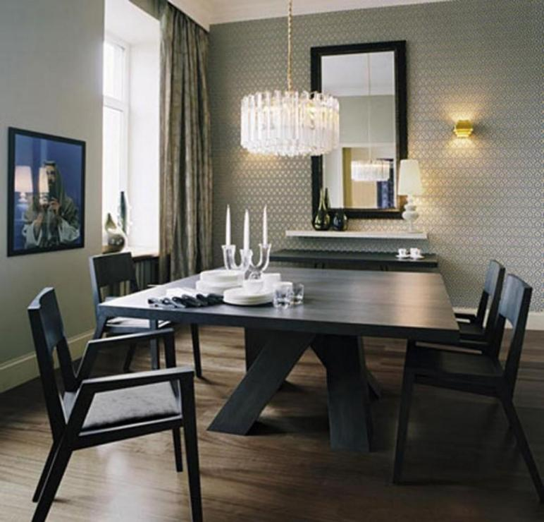 Minimalist Dining Room Elegance Designs Decorate