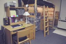 Minimalist Dorm Decorating Ideas Along Compact