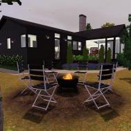 Mod Sims Scandinavian Hideaway Scandinavia House