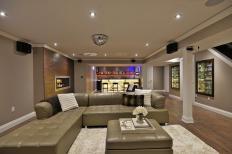 Modern Basement Design Plans Great