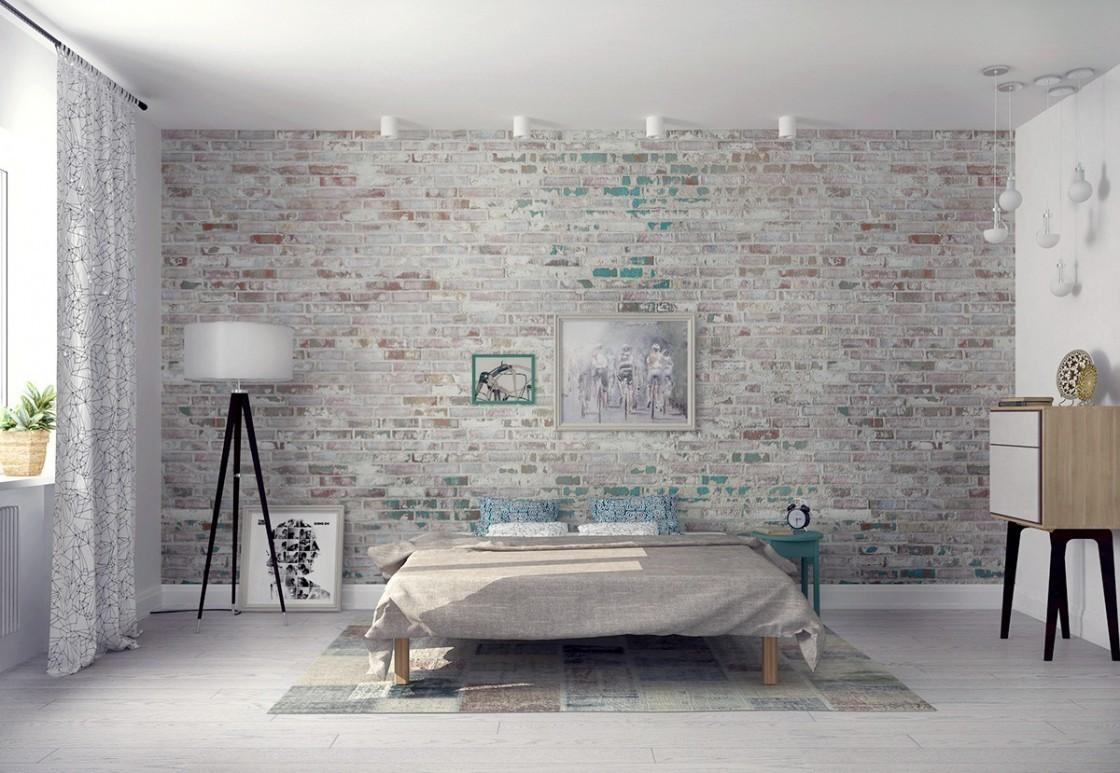 Elegant Brick Wall Bedroom Ideas That You Are Going To Love Photo Examples Decoratorist