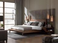 Modern Bedroom Grey Walls Dands