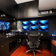 Modern Bedroom Study Room Interior Design