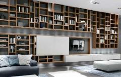 Modern Bookcase Living Rooms Tedxumkc Decoration