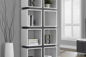 Modern Bookcase Your Trendy Home Interior American Hwy