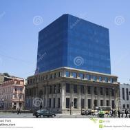 Modern Building Valparaiso Stock