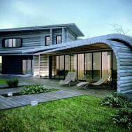 Modern Eco Friendly House Plans Pool