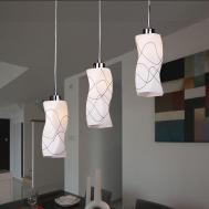 Modern Glass Chandelier Ceiling Pendant Fixtures Light