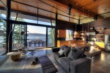 Modern Lakefront Cabin Idaho Usa