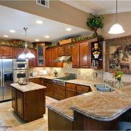 Modern Luxury Kitchen Granite Countertop Aneilve