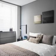 Modern Minimalist Apartment Interior Design White