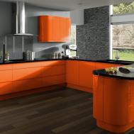 Modern Orange Kitchens Kitchen Design Ideas Blog