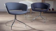 Modern Trendy Swivel Dining Chairs Design