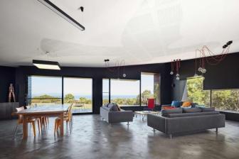Modern Waratah Bay House Gives Nod Escher