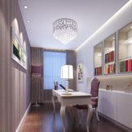 Modern Warm Study Room Interior Design House