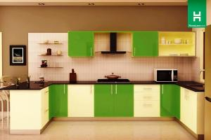 Modular Kitchen Indian Style Over Italian Designs Open