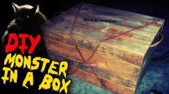 Monster Box Diy Halloween Haunted House Prop