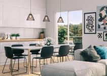 More Stunning Scandinavian Dining Rooms