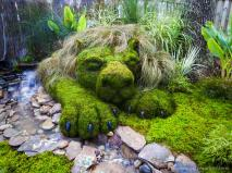Moss Soothes Savage Beast All Stone