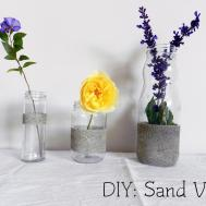 Mothers Day Diy Idea Sand Vases Clouds Colour