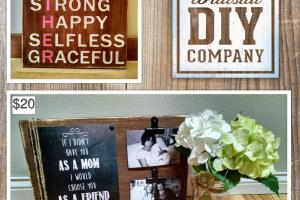 Mothers Day Gift Signs