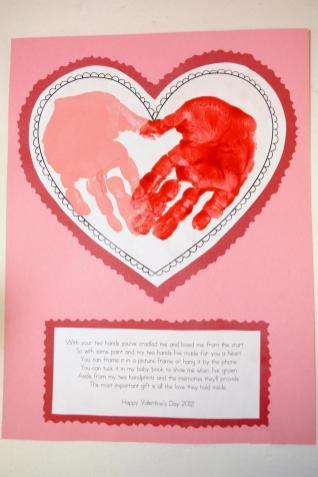 Mrs Ricca Kindergarten Valentine Day