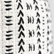 Mud Cloth Crochet Pillow Pattern Make