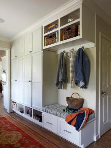 Mudroom Cabinets Benches Traditional