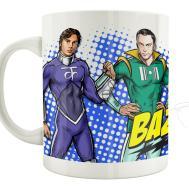 Mug Big Bang Theory Heros Style