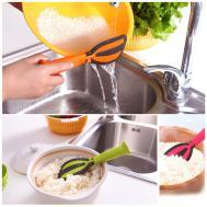 Multi Functional Plastic Rice Spoon Non Stick Scoop