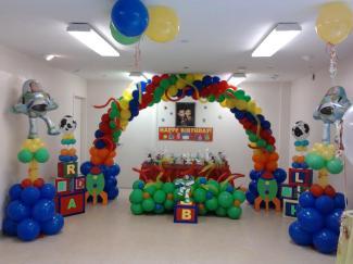 Muyameno Fiestas Infantiles Toy Story Parte