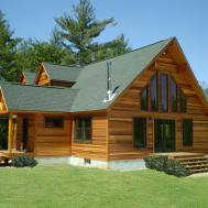 Natural Affordable Modern Prefab Log Cabins Architecture