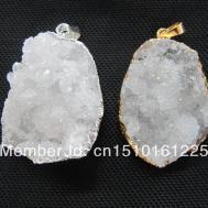 Natural Geode Agate Druzy Crystal Quartz Drusy Gem Stone