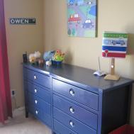 Navy Blue Dresser Bedroom Furniture Roselawnlutheran