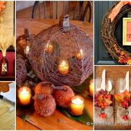 Neat Inexpensive Diy Thanksgiving Decorations Every