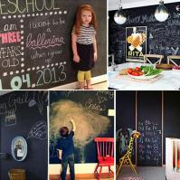 New Diy Home Decor Removable Vinyl Chalkboard
