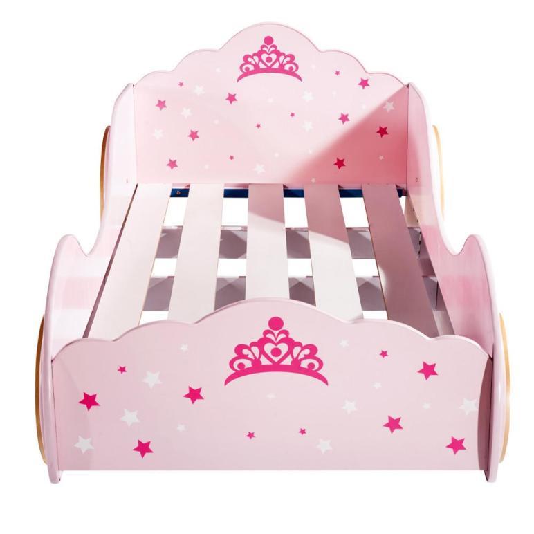 New Kids Girls Beds Car Princess Castle Carriage