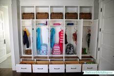 New Organized Mudroom Sunny Side Blog