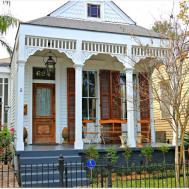 New Orleans Homes Neighborhoods Natural Wood Doors