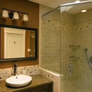Nice Ideas Natural Stone Bathroom Wall