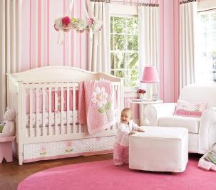 Nice Pink Bedding Pretty Baby Girl Nursery