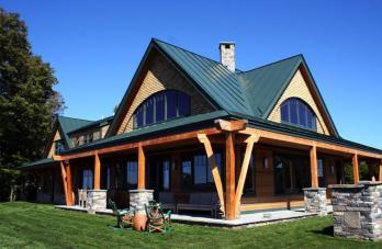 Night Pasture Farm Chelsea Modern Timber Home